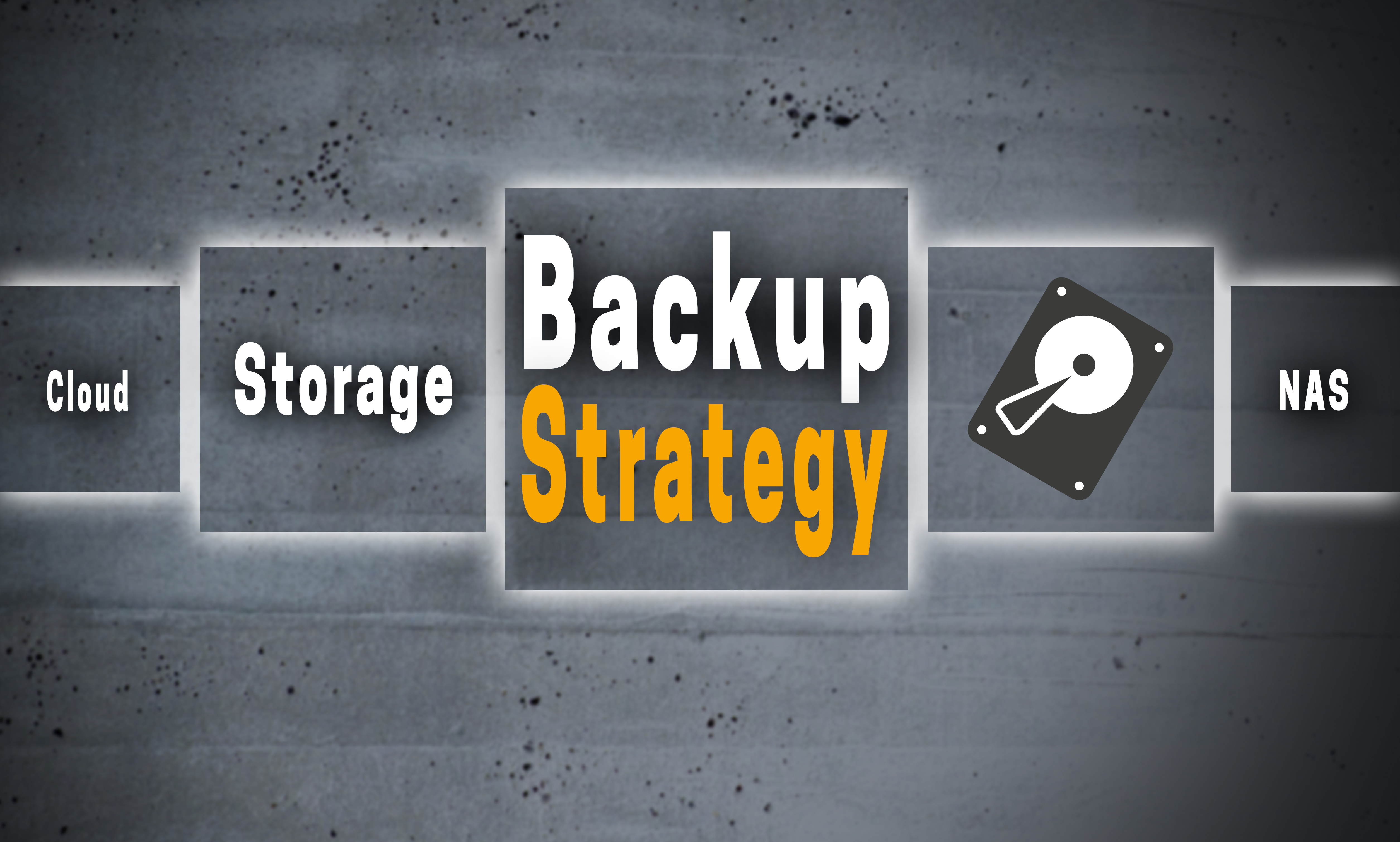 backup strategy text