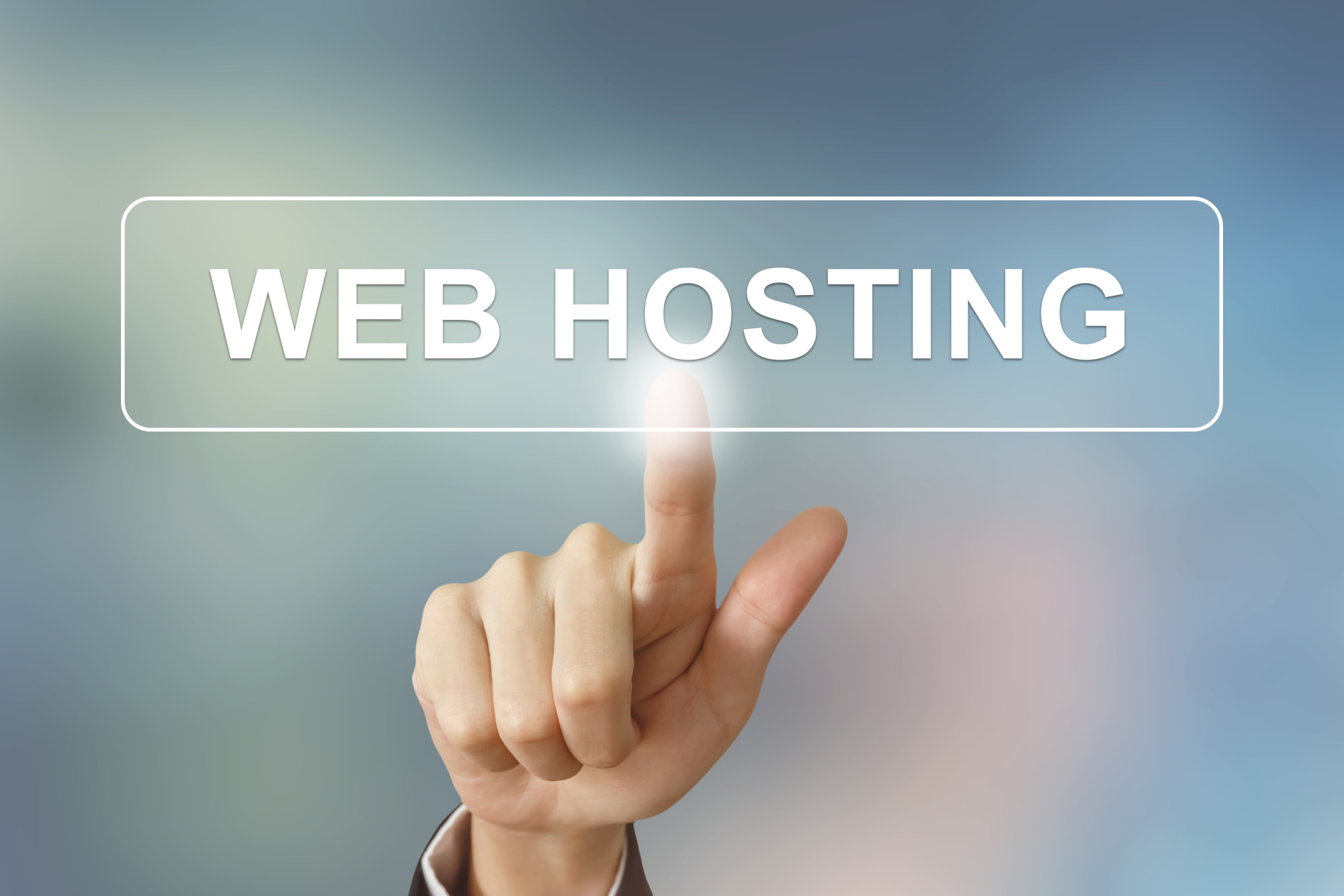 web hosting text
